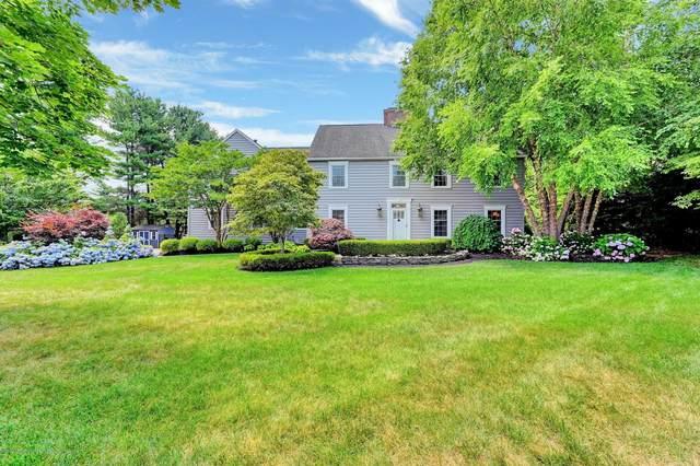 12 Apple Grove Drive, Holmdel, NJ 07733 (MLS #22023329) :: The Sikora Group
