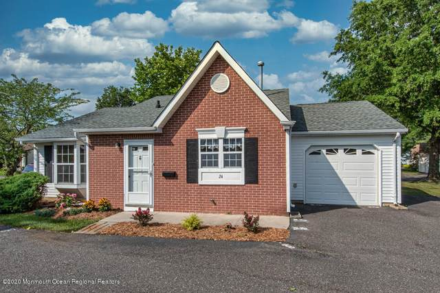 24 Edgeware Close #1000, Freehold, NJ 07728 (MLS #22023338) :: The Ventre Team
