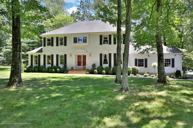 108 Clover Hill Road, Colts Neck, NJ 07722 (MLS #22023528) :: The Sikora Group
