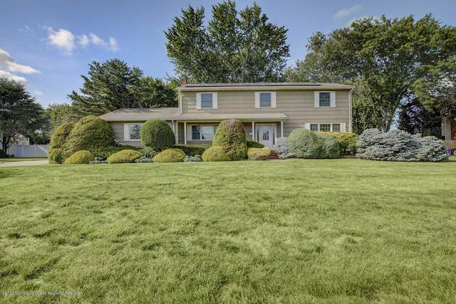 122 Old Post Road, Freehold, NJ 07728 (MLS #22024262) :: The Sikora Group