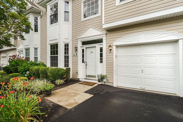 115 Shinnecock Drive, Manalapan, NJ 07726 (MLS #22025689) :: The MEEHAN Group of RE/MAX New Beginnings Realty