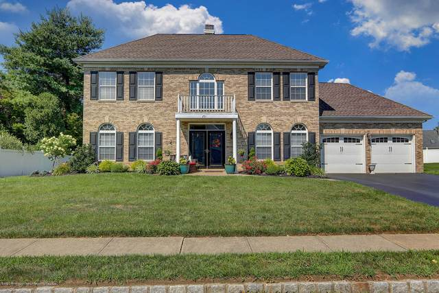 201 Seton Hall Drive, Freehold, NJ 07728 (MLS #22027239) :: The MEEHAN Group of RE/MAX New Beginnings Realty