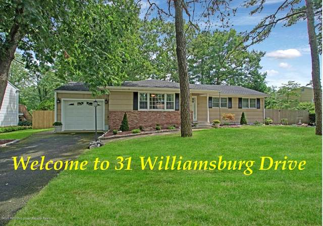 31 Williamsburg Drive, Toms River, NJ 08755 (MLS #22027398) :: The Ventre Team