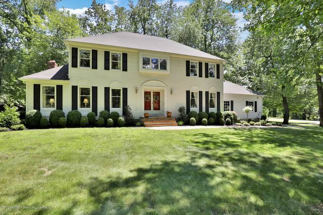 108 Clover Hill Road, Colts Neck, NJ 07722 (MLS #22030319) :: The Dekanski Home Selling Team