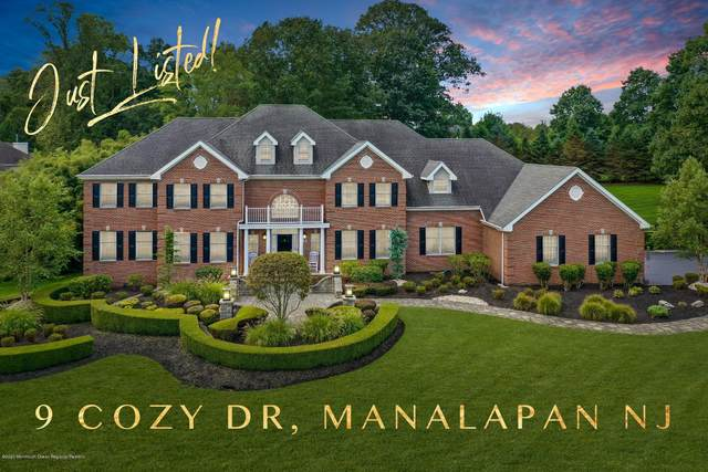 9 Cozy Drive, Manalapan, NJ 07726 (MLS #22033320) :: Laurie Savino Realtor