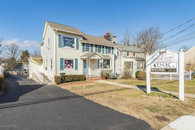 803 River Road, Fair Haven, NJ 07704 (MLS #22033343) :: William Hagan Group
