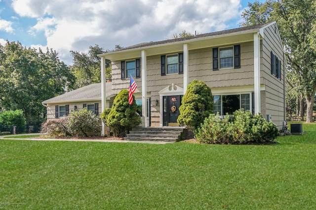 151 Brittany Drive, Freehold, NJ 07728 (MLS #22036212) :: The Sikora Group