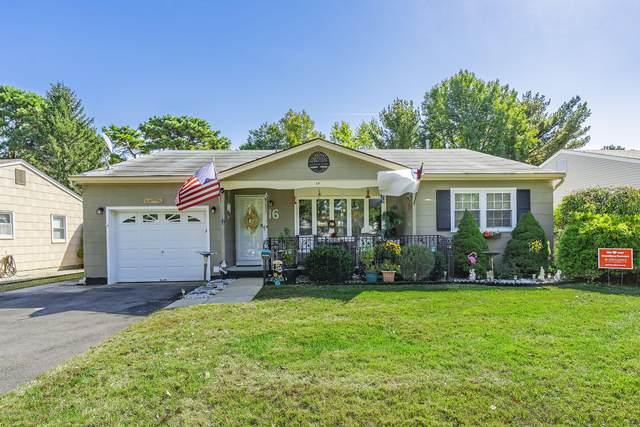 16 Millbrook Drive, Toms River, NJ 08757 (MLS #22037536) :: Provident Legacy Real Estate Services, LLC