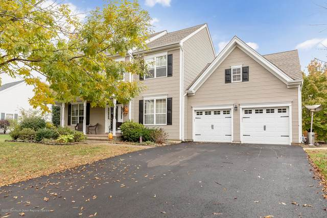 27 Woodstown Drive, Freehold, NJ 07728 (MLS #22037930) :: The Sikora Group