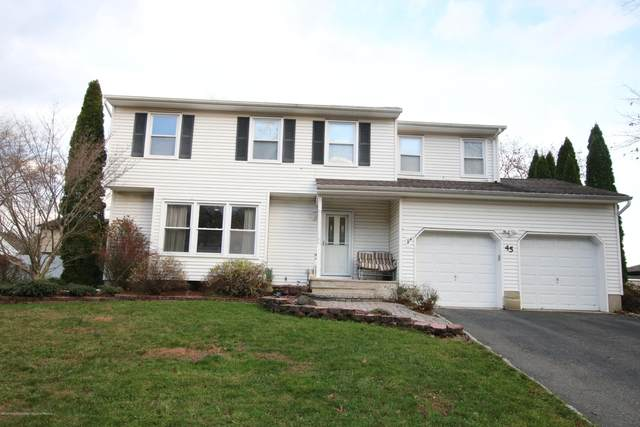 45 Jonathan Drive, Tinton Falls, NJ 07753 (MLS #22040366) :: The Sikora Group