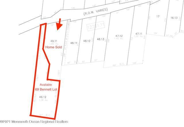 Lot 1- 69 Bennett Road, Matawan, NJ 07747 (MLS #22040707) :: The Streetlight Team at Formula Realty