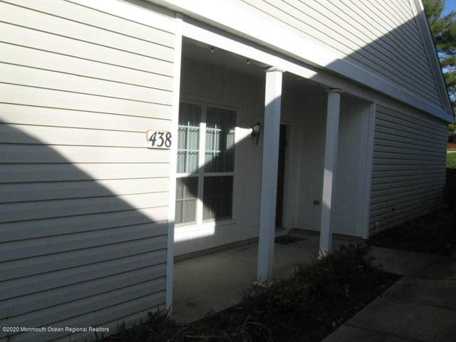438 Bluebird Drive #438, Monroe, NJ 08831 (MLS #22042295) :: William Hagan Group
