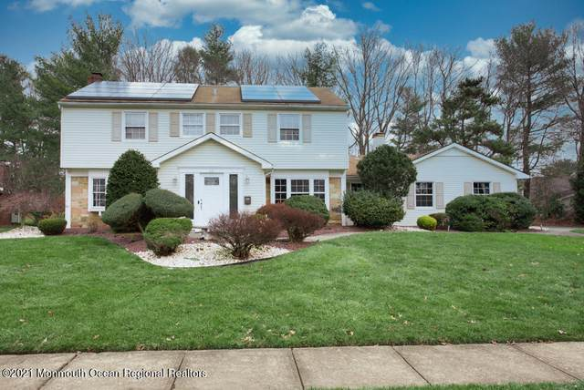 36 Mistletoe Drive, Matawan, NJ 07747 (MLS #22101210) :: Halo Realty