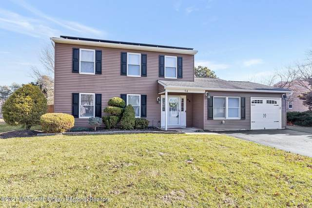 54 Markwood Drive, Howell, NJ 07731 (#22101211) :: Nexthome Force Realty Partners