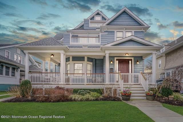 407 10th Avenue, Belmar, NJ 07719 (MLS #22101595) :: The MEEHAN Group of RE/MAX New Beginnings Realty