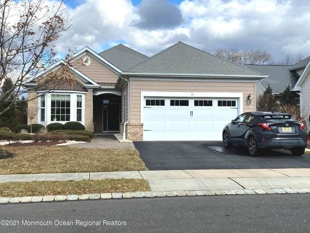 15 E Sagamore Drive, Farmingdale, NJ 07727 (MLS #22101796) :: William Hagan Group