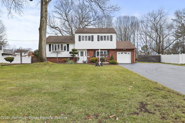 8 Annapolis Drive, Manalapan, NJ 07726 (MLS #22101839) :: The Sikora Group