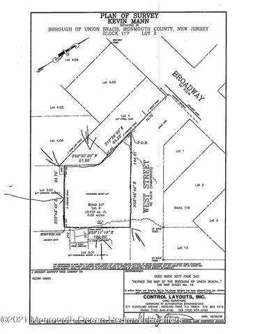 0 West Street, Union Beach, NJ 07735 (MLS #22102055) :: The Dekanski Home Selling Team