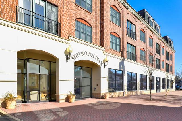 23 Wallace Street #213, Red Bank, NJ 07701 (MLS #22102077) :: The Ventre Team