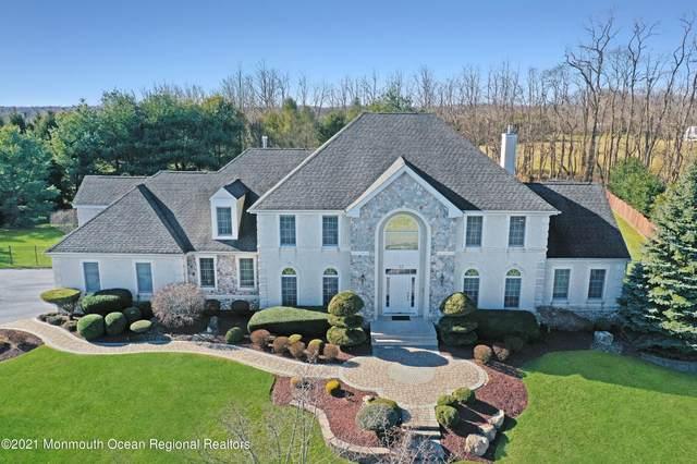 22 Coleridge Drive, Marlboro, NJ 07746 (MLS #22102419) :: William Hagan Group