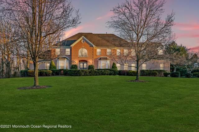 12 Appaloosa Drive, Manalapan, NJ 07726 (MLS #22102553) :: William Hagan Group
