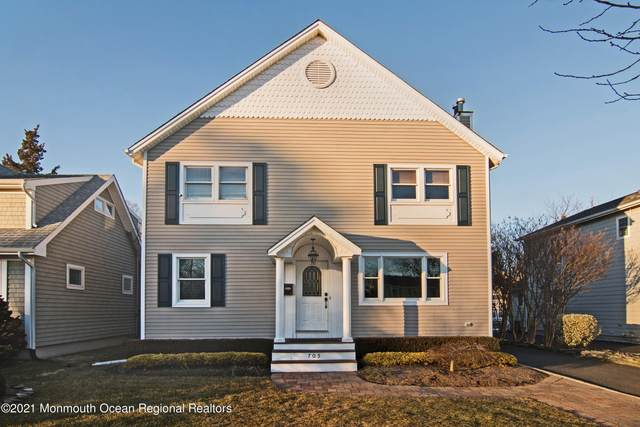 705 New York Boulevard, Sea Girt, NJ 08750 (MLS #22105448) :: William Hagan Group