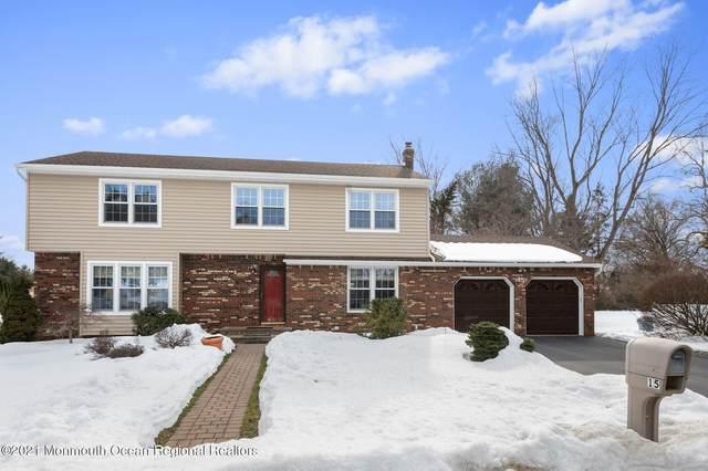 15 Overhill Drive, Marlboro, NJ 07746 (MLS #22105964) :: William Hagan Group