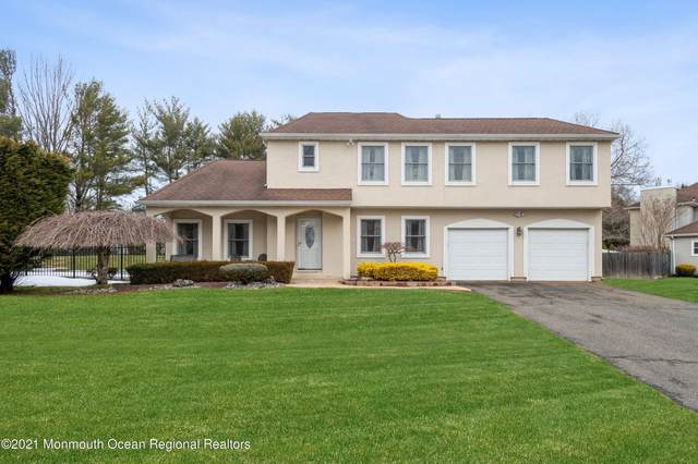 8 Forge Court, Marlboro, NJ 07746 (MLS #22105995) :: Team Pagano
