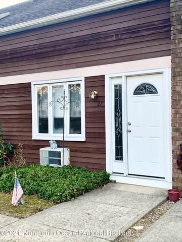 600 Clifton Avenue #7, Toms River, NJ 08753 (MLS #22106340) :: The Sikora Group