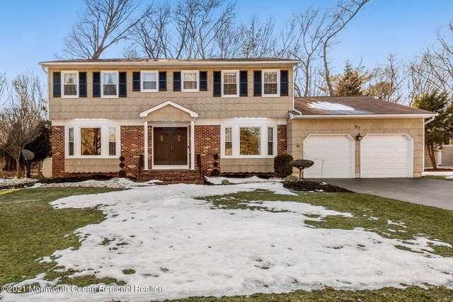 47 Truman Drive, Marlboro, NJ 07746 (MLS #22106347) :: Provident Legacy Real Estate Services, LLC