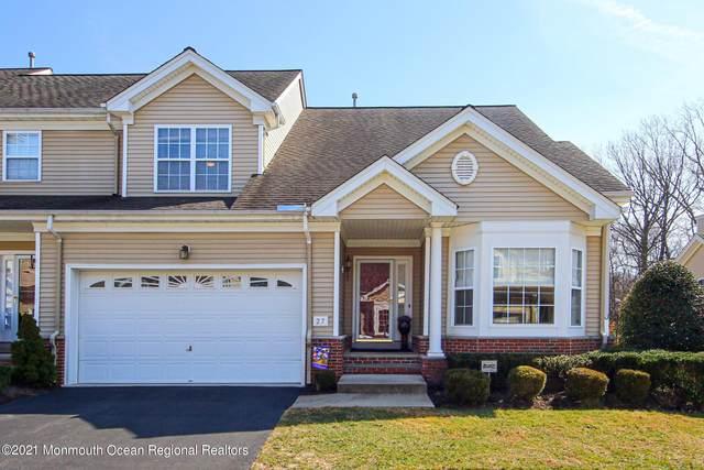 27 Village Drive, Eatontown, NJ 07724 (MLS #22107130) :: William Hagan Group