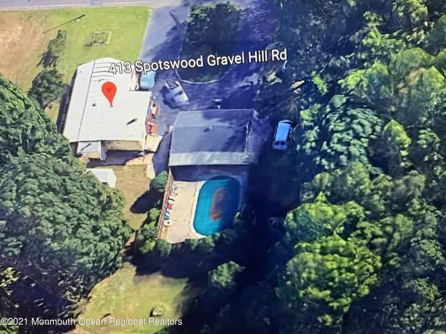 413 Spotswood Gravel Hill Road, Monroe, NJ 08831 (MLS #22107735) :: Provident Legacy Real Estate Services, LLC