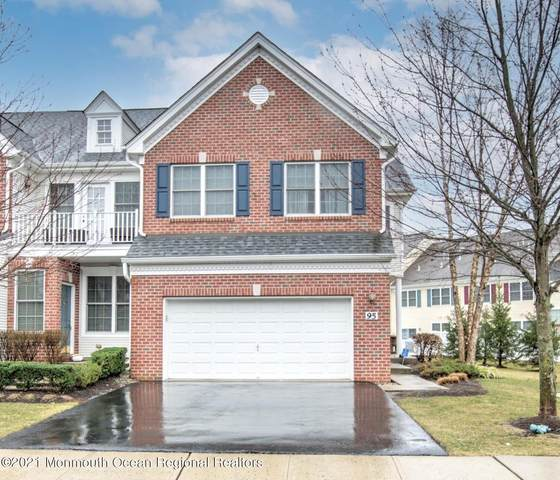 95 Demarest Drive, Manalapan, NJ 07726 (MLS #22108186) :: William Hagan Group