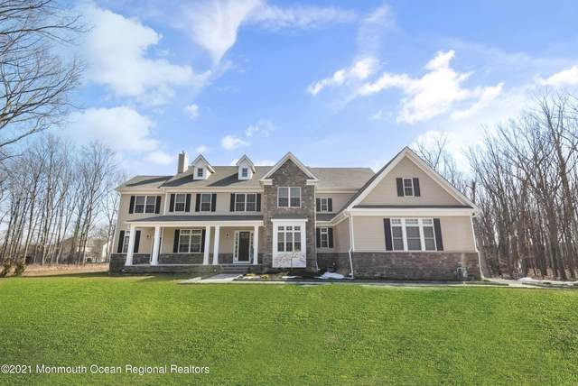 77 Oakland Mills Road, Manalapan, NJ 07726 (MLS #22108726) :: The Ventre Team