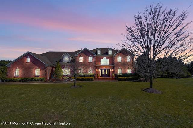 1 Castlehill Drive, Marlboro, NJ 07746 (MLS #22108838) :: William Hagan Group