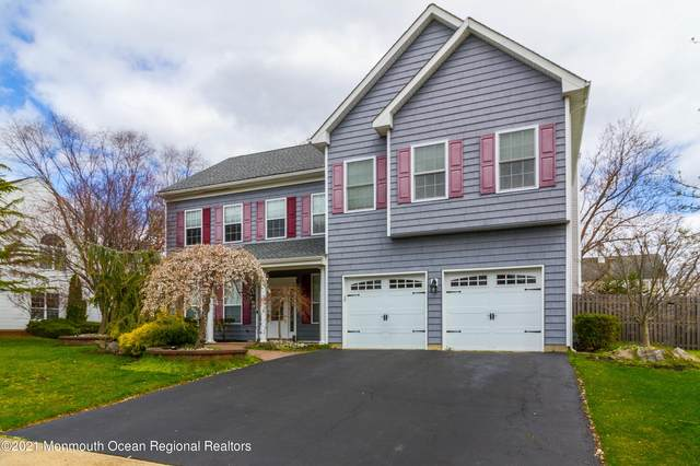 39 Woodstown Drive, Freehold, NJ 07728 (MLS #22110228) :: The Ventre Team