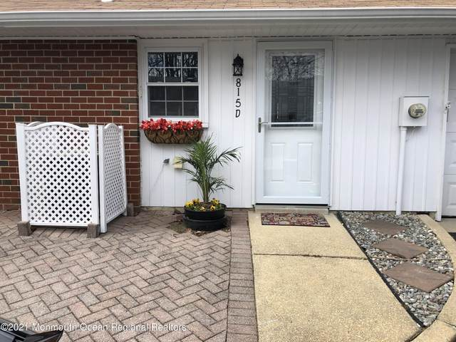 815 D Balmoral Court, Lakewood, NJ 08701 (MLS #22111102) :: The MEEHAN Group of RE/MAX New Beginnings Realty