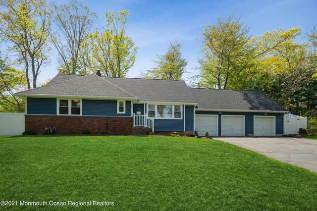 63 Farms Road Circle, East Brunswick, NJ 08816 (MLS #22113160) :: The Sikora Group
