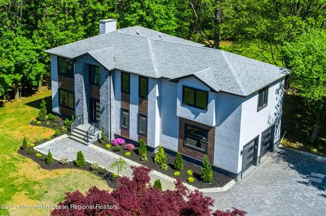 32 Joysan Terrace, Freehold, NJ 07728 (MLS #22113429) :: William Hagan Group