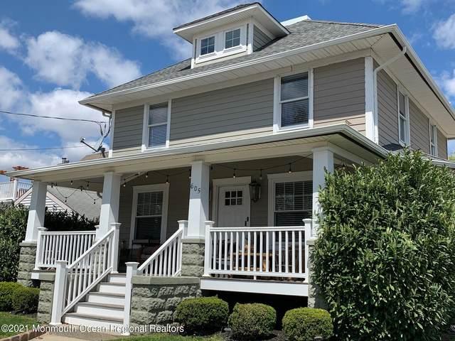 605 Mclean Avenue, Point Pleasant Beach, NJ 08742 (MLS #22113716) :: The Sikora Group