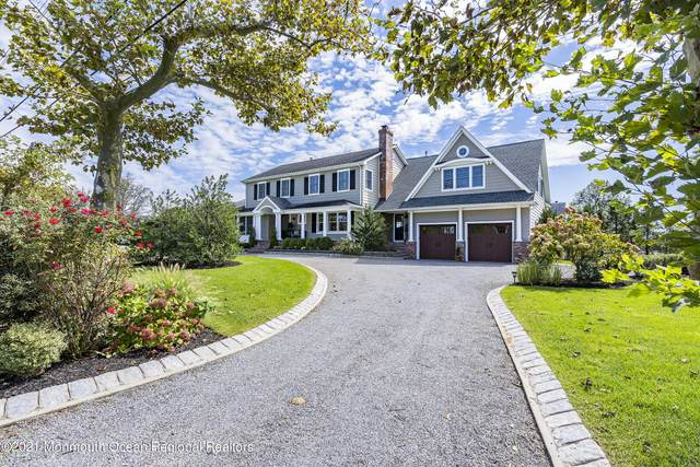 80 Gooseneck Point Road, Oceanport, NJ 07757 (MLS #22114009) :: The Sikora Group