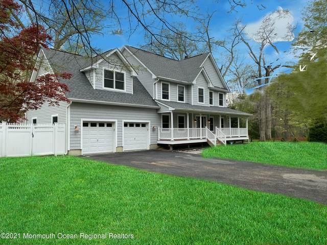 35 Lakeside Drive, Farmingdale, NJ 07727 (MLS #22114062) :: The Sikora Group