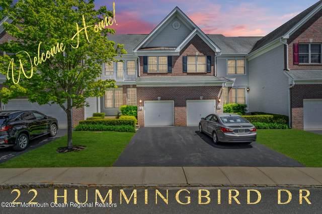 22 Hummingbird Drive, Manalapan, NJ 07726 (MLS #22115244) :: William Hagan Group