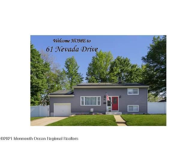 61 Nevada Drive, Hazlet, NJ 07730 (MLS #22115526) :: The MEEHAN Group of RE/MAX New Beginnings Realty