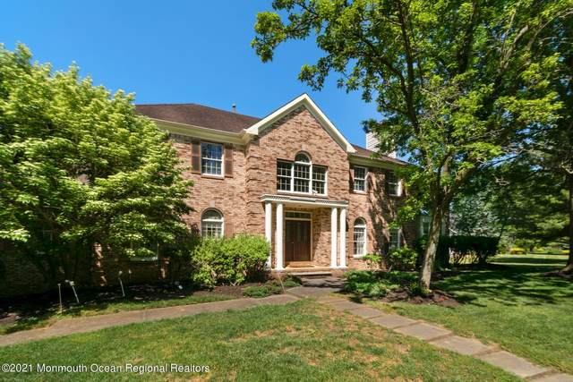 220 Sheffield Drive, Freehold, NJ 07728 (MLS #22116866) :: The MEEHAN Group of RE/MAX New Beginnings Realty