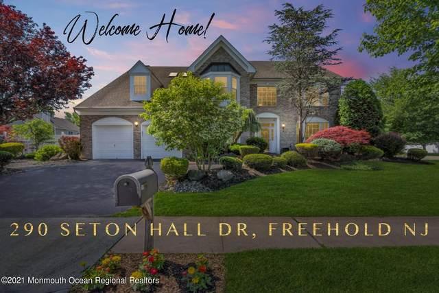 290 Seton Hall Drive, Freehold, NJ 07728 (MLS #22117899) :: The CG Group | RE/MAX Revolution