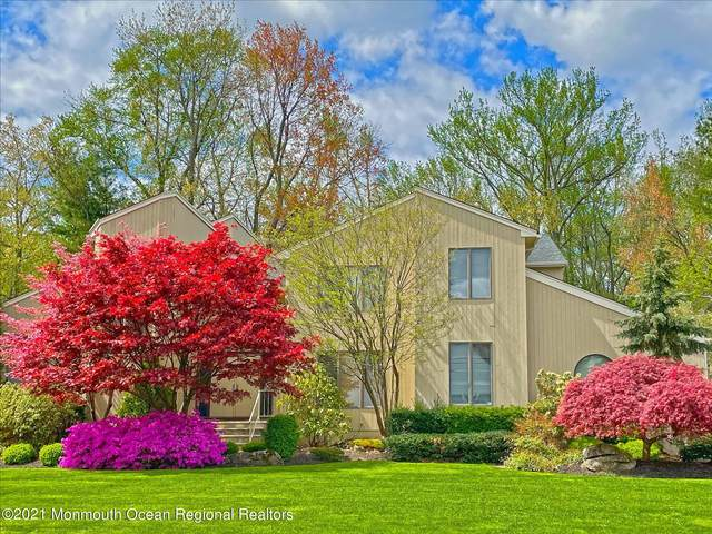 220 Tracy Drive, Morganville, NJ 07751 (MLS #22118001) :: The MEEHAN Group of RE/MAX New Beginnings Realty