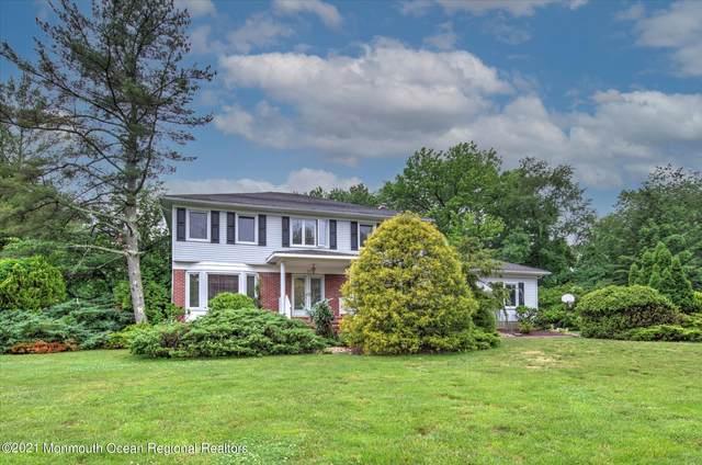 30 Princeton Drive, Manalapan, NJ 07726 (MLS #22118147) :: The Sikora Group