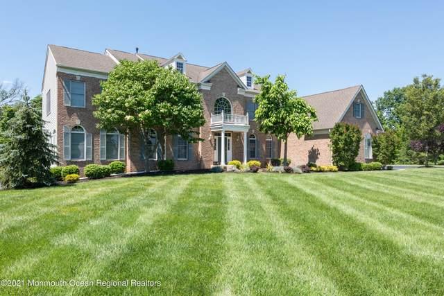 713 Summer Drive, Manalapan, NJ 07726 (#22118173) :: Rowack Real Estate Team