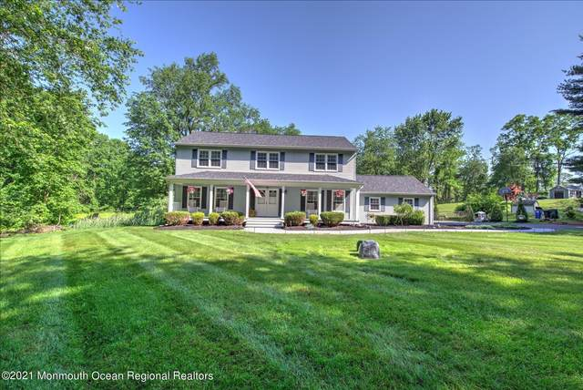 101 Valley Drive, Millstone, NJ 08535 (#22118286) :: Rowack Real Estate Team